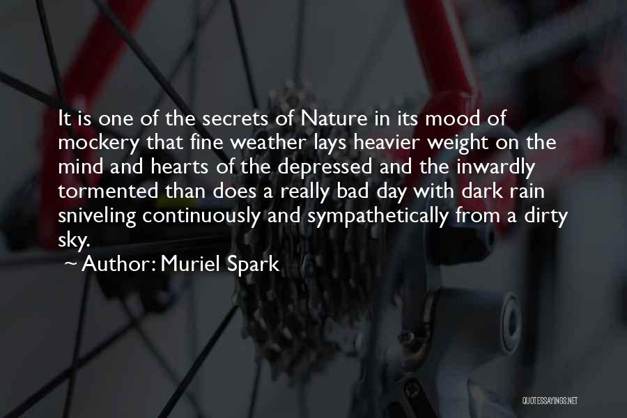 Depressed Heart Quotes By Muriel Spark