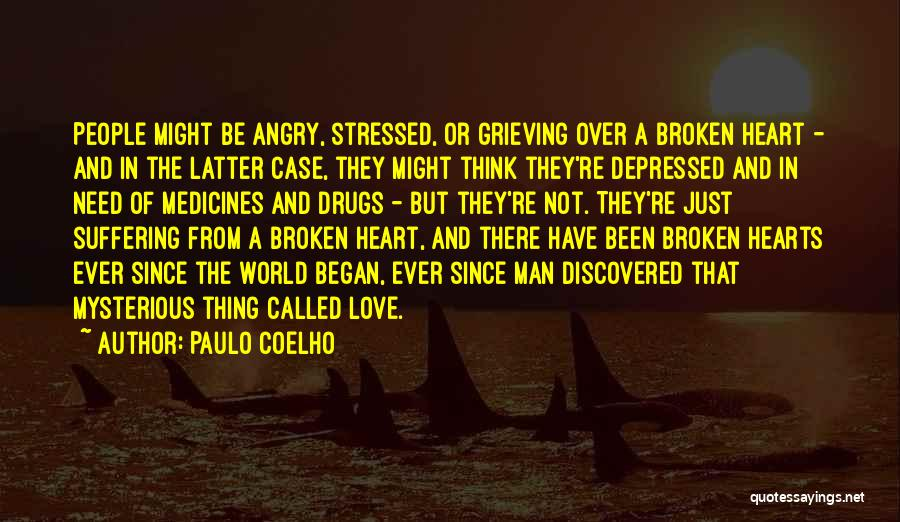 Depressed Heart Quotes By Paulo Coelho