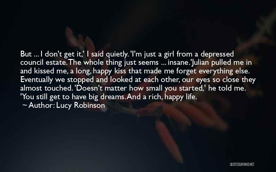 Depressed Life Quotes By Lucy Robinson