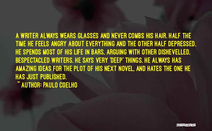 Depressed Life Quotes By Paulo Coelho