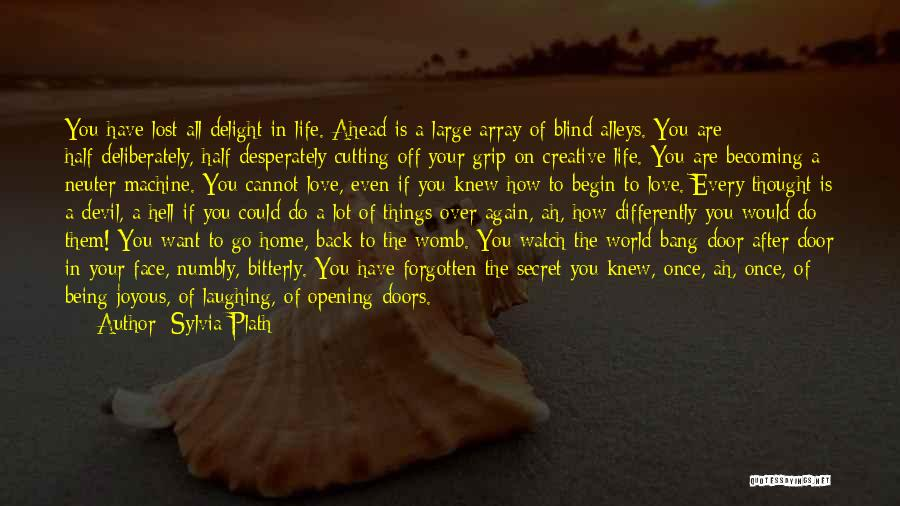 Depression And Cutting Quotes By Sylvia Plath