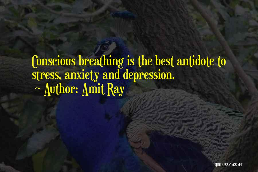 Depression And Stress Quotes By Amit Ray