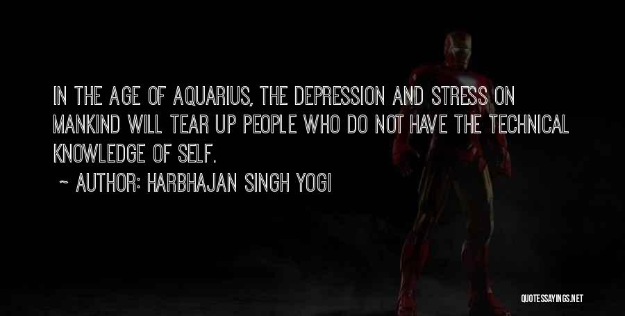 Depression And Stress Quotes By Harbhajan Singh Yogi