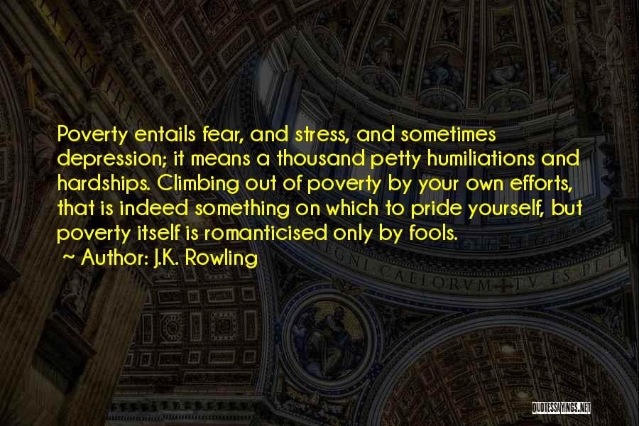 Depression And Stress Quotes By J.K. Rowling