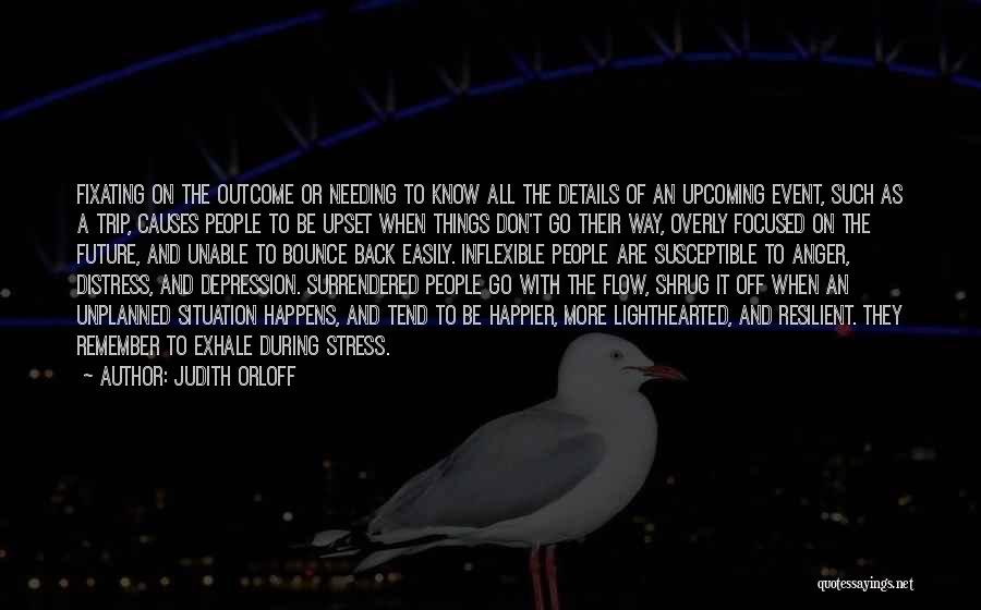 Depression And Stress Quotes By Judith Orloff
