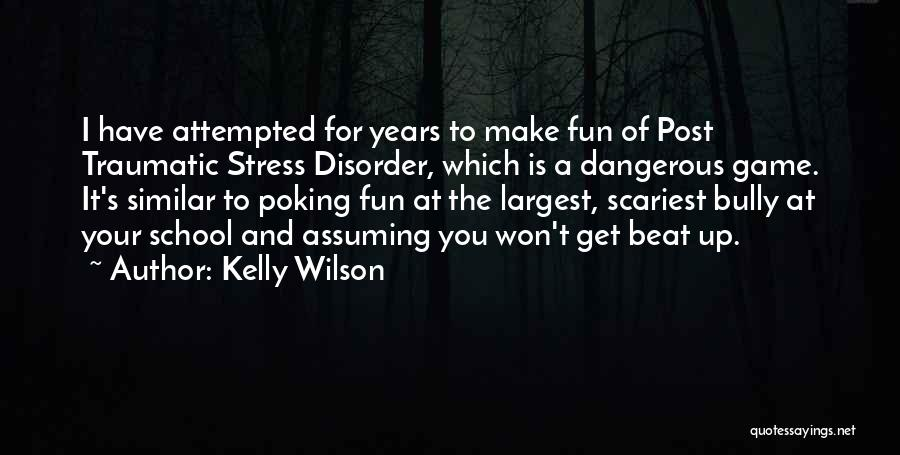 Depression And Stress Quotes By Kelly Wilson