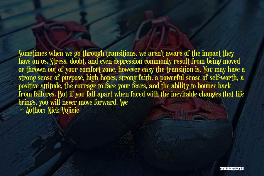 Depression And Stress Quotes By Nick Vujicic