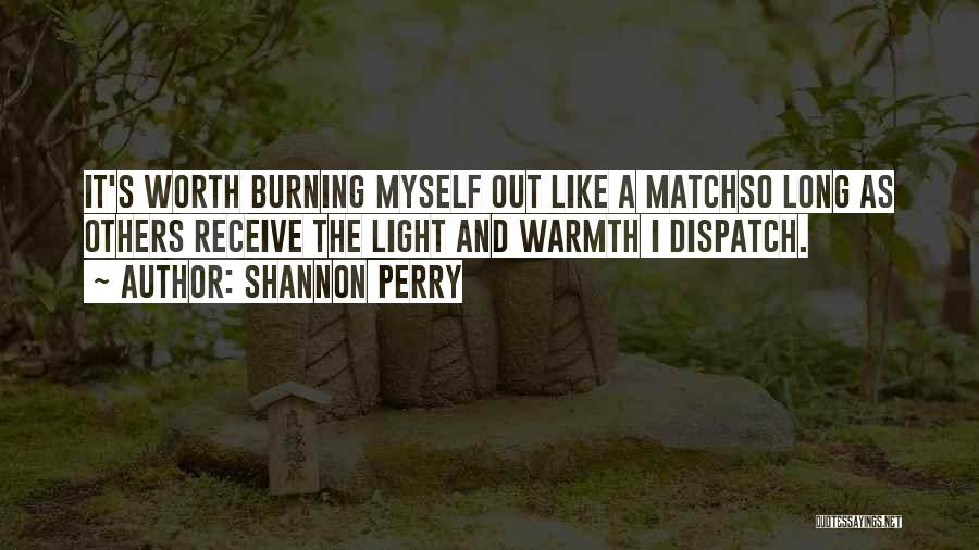 Depression And Stress Quotes By Shannon Perry