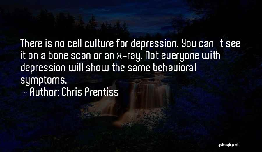 Depression Treatment Quotes By Chris Prentiss