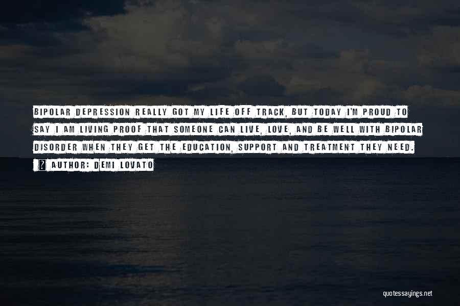 Depression Treatment Quotes By Demi Lovato