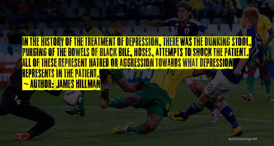 Depression Treatment Quotes By James Hillman