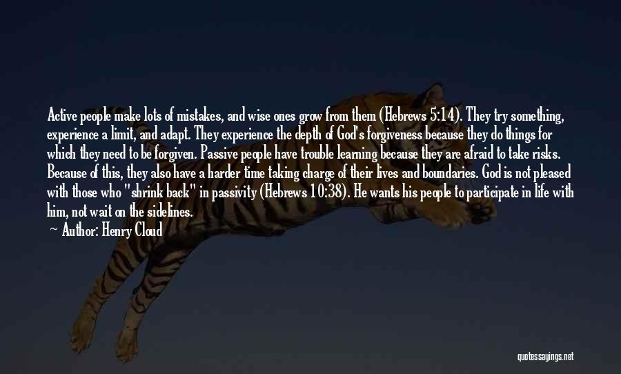 Depth Charge Quotes By Henry Cloud