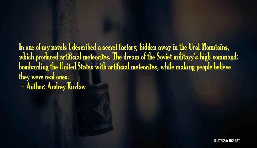 Described Quotes By Andrey Kurkov