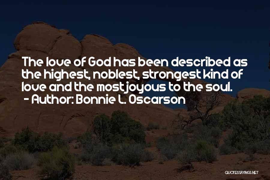 Described Quotes By Bonnie L. Oscarson