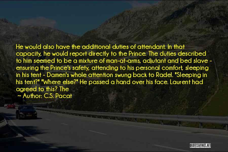 Described Quotes By C.S. Pacat