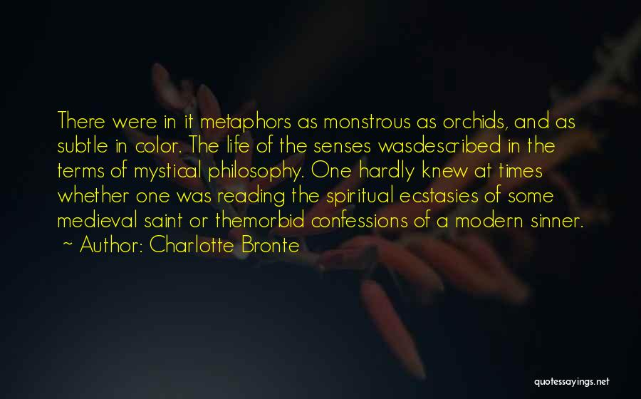 Described Quotes By Charlotte Bronte