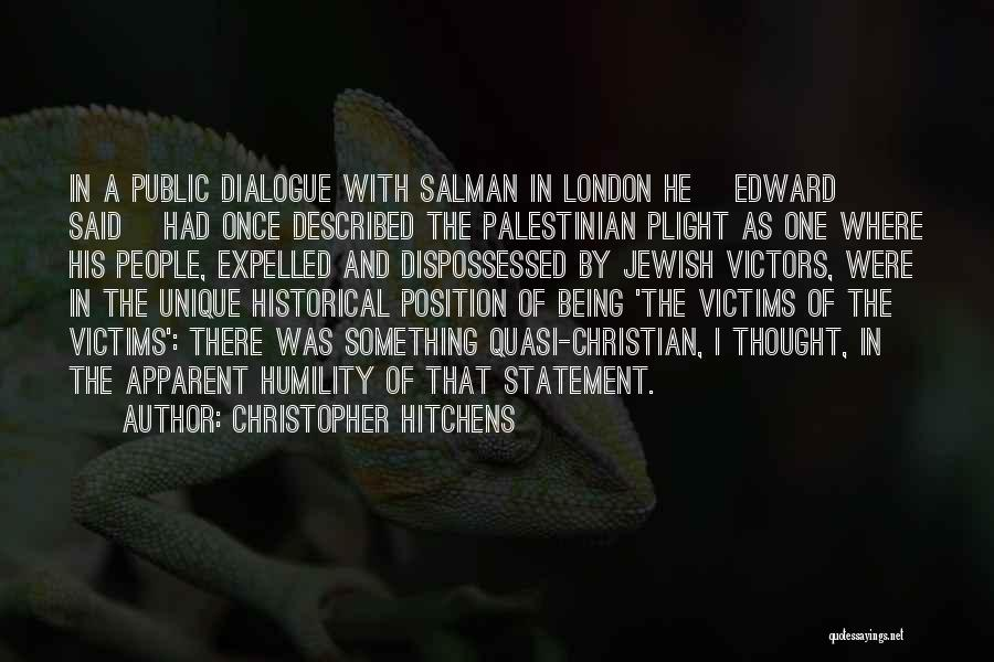 Described Quotes By Christopher Hitchens