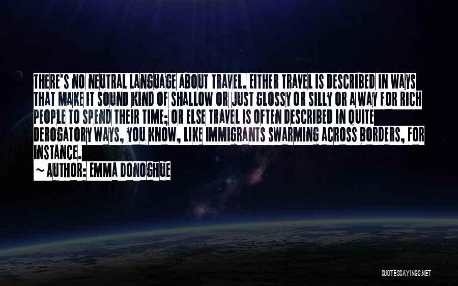 Described Quotes By Emma Donoghue