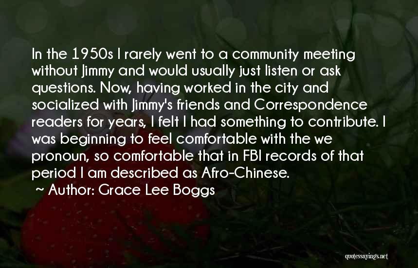 Described Quotes By Grace Lee Boggs