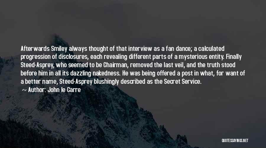 Described Quotes By John Le Carre
