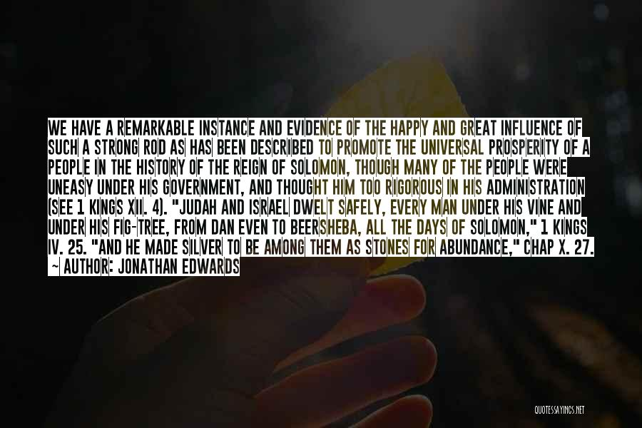 Described Quotes By Jonathan Edwards