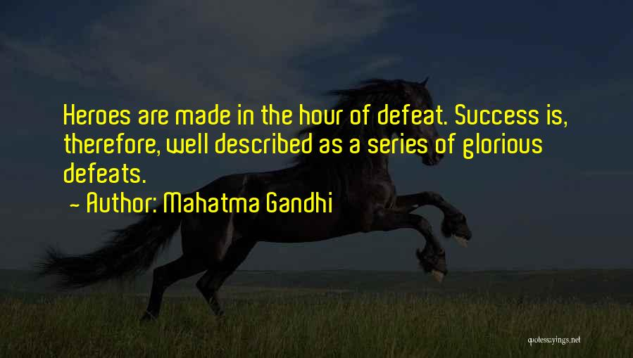 Described Quotes By Mahatma Gandhi