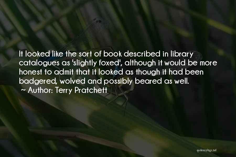 Described Quotes By Terry Pratchett