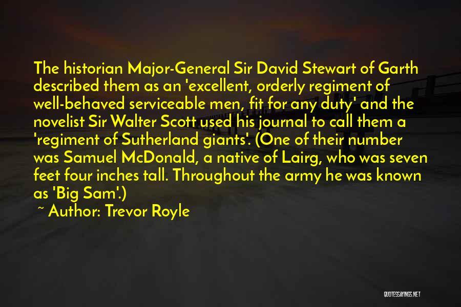 Described Quotes By Trevor Royle