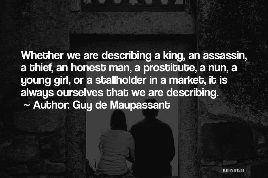 Describing A Girl Quotes By Guy De Maupassant