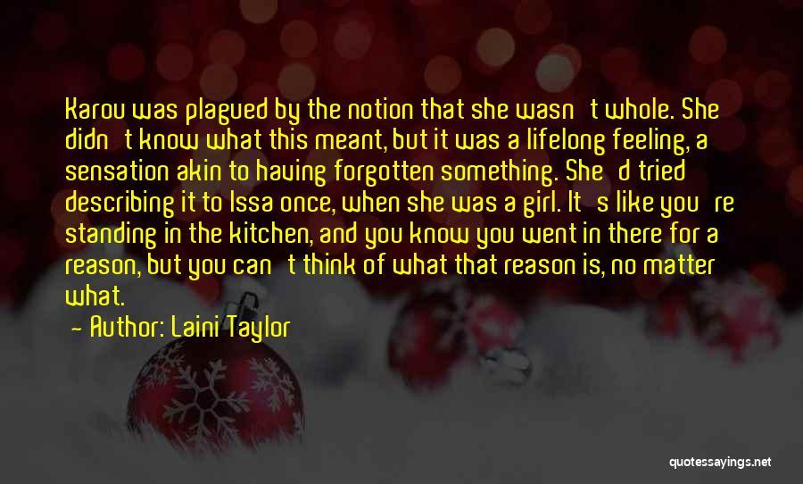 Describing A Girl Quotes By Laini Taylor