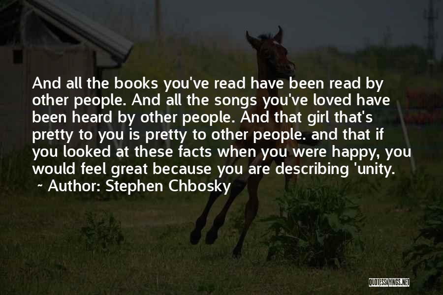 Describing A Girl Quotes By Stephen Chbosky