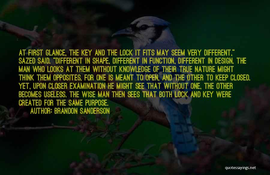 Design Function Quotes By Brandon Sanderson