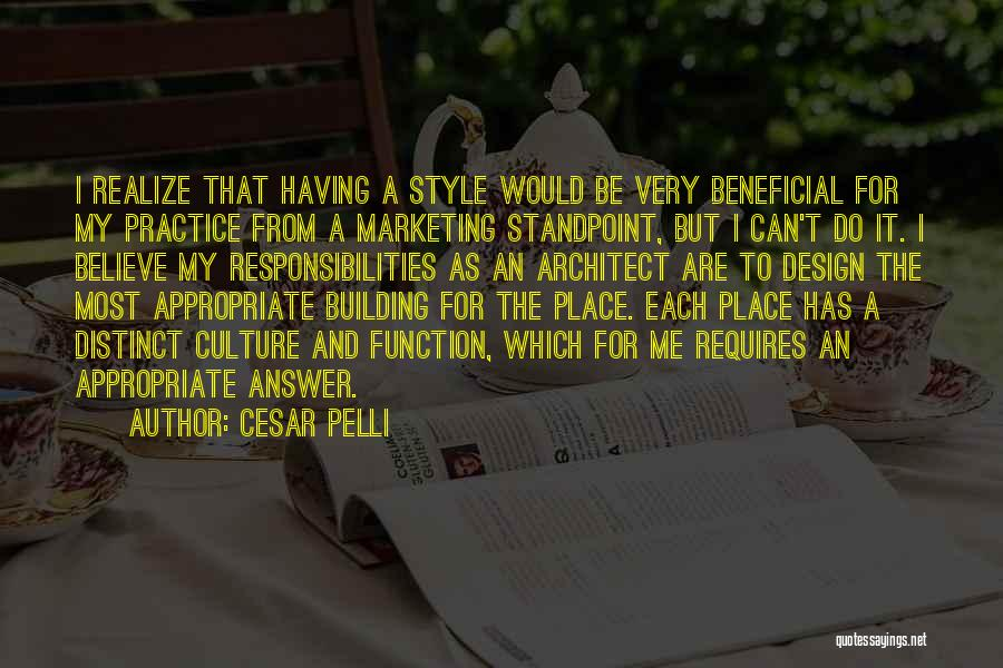 Design Function Quotes By Cesar Pelli