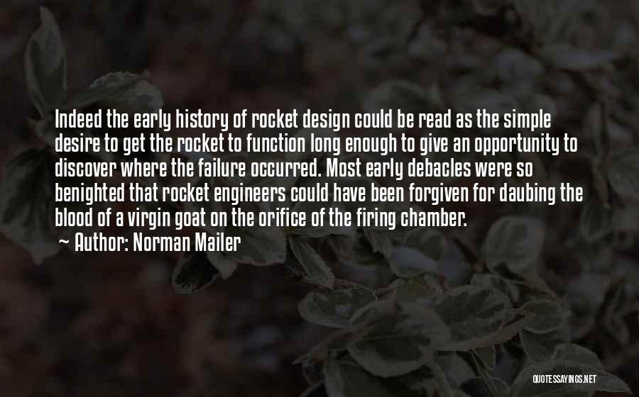 Design Function Quotes By Norman Mailer