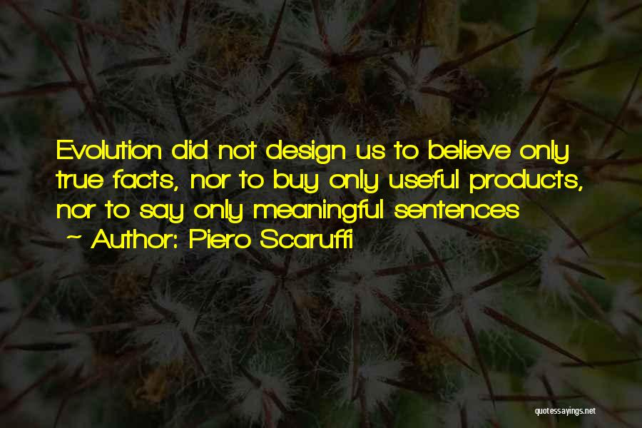 Design Philosophy Quotes By Piero Scaruffi