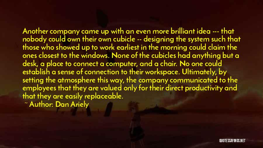 Designing Company Quotes By Dan Ariely