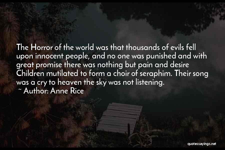 Desire And Pain Quotes By Anne Rice