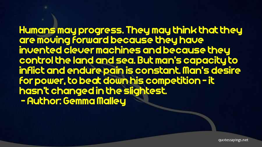 Desire And Pain Quotes By Gemma Malley