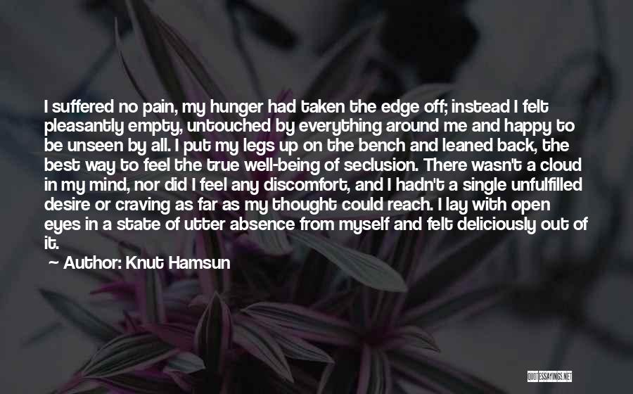 Desire And Pain Quotes By Knut Hamsun