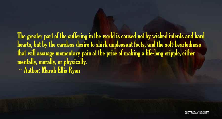 Desire And Pain Quotes By Marah Ellis Ryan