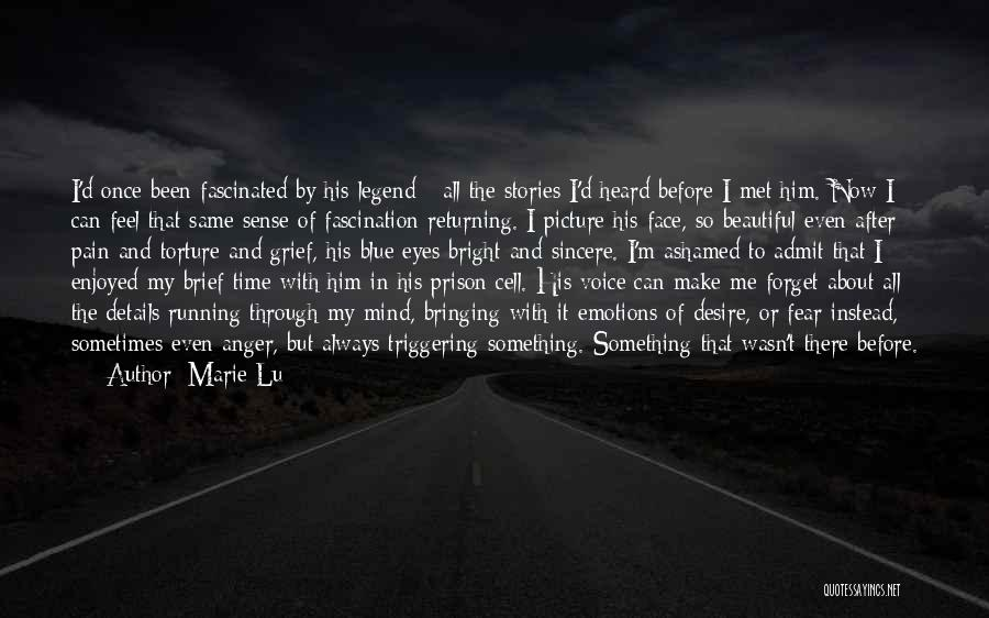 Desire And Pain Quotes By Marie Lu