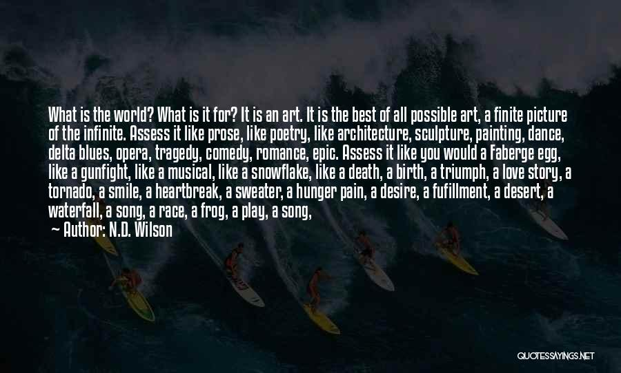Desire And Pain Quotes By N.D. Wilson
