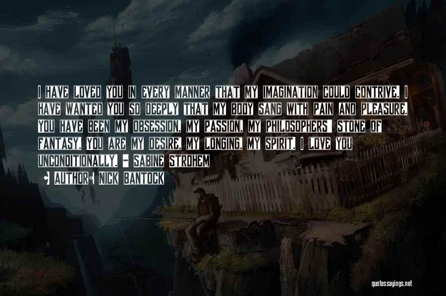 Desire And Pain Quotes By Nick Bantock