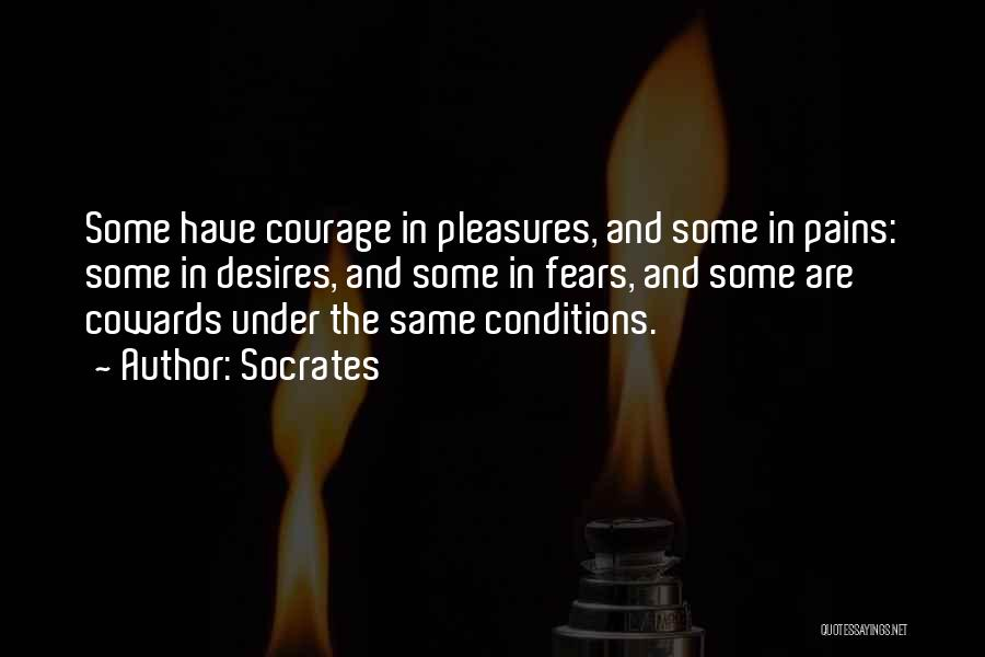 Desire And Pain Quotes By Socrates