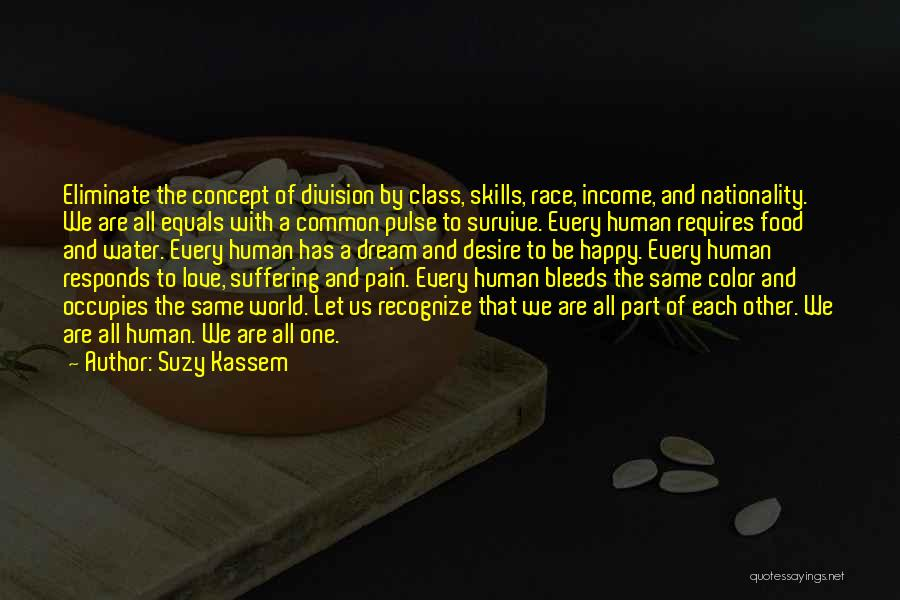 Desire And Pain Quotes By Suzy Kassem