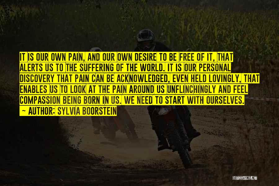 Desire And Pain Quotes By Sylvia Boorstein