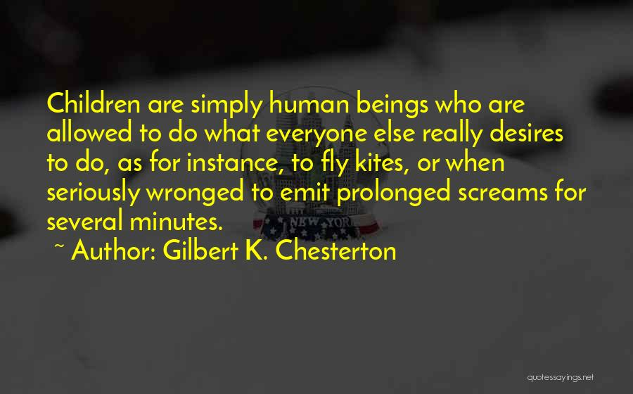Desire To Fly Quotes By Gilbert K. Chesterton
