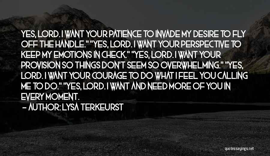 Desire To Fly Quotes By Lysa TerKeurst