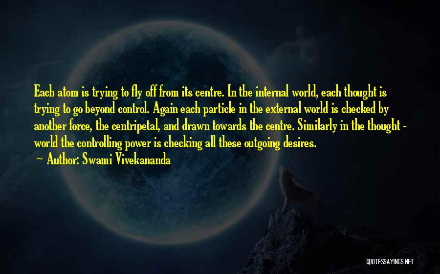 Desire To Fly Quotes By Swami Vivekananda