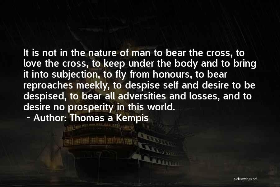 Desire To Fly Quotes By Thomas A Kempis